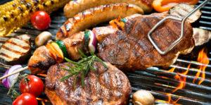 BBQ pakket, allerlei soorten vlees