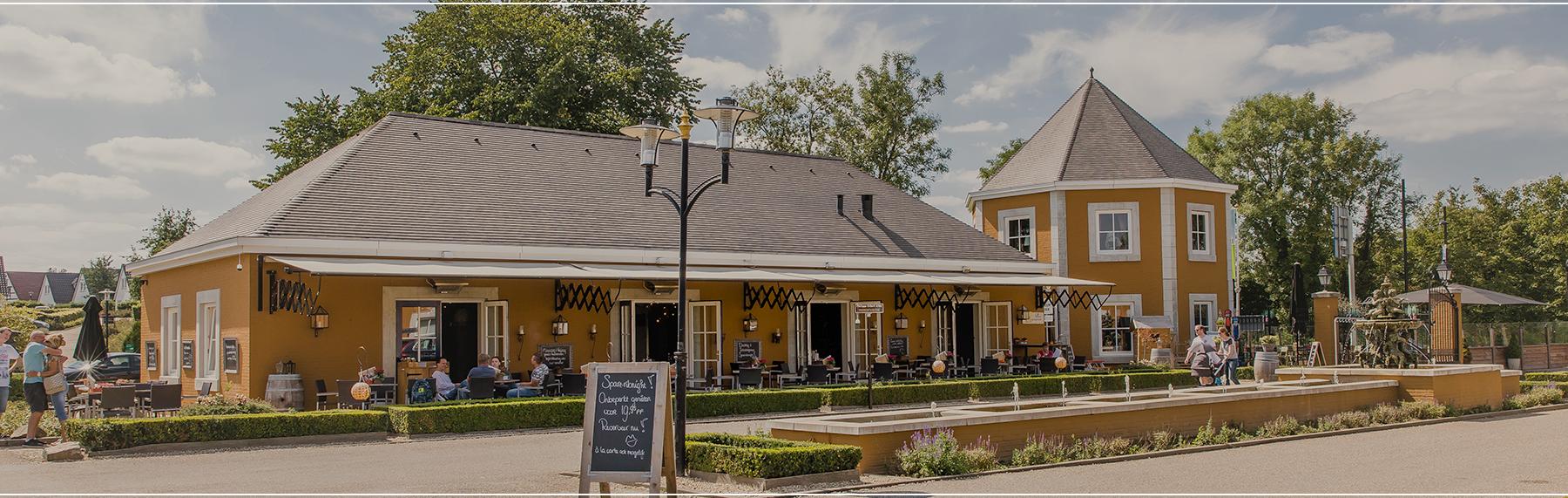 Panorama van het restaurant